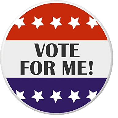 Vote for Me Button